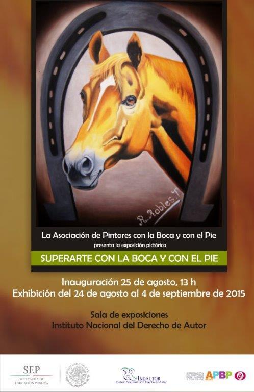 Exposicion SUPERARTE en INDAUTOR Agosto 2015