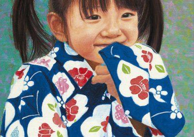 EP161 Niña con kimono