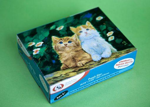 Rompecabezas para niños Familia de Animalitos