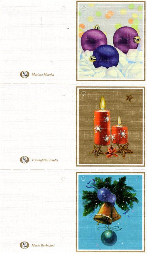 Juego de 3 Etiquetas para regalo (Navidad)