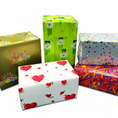 Papel para envolver regalos en toda ocasión