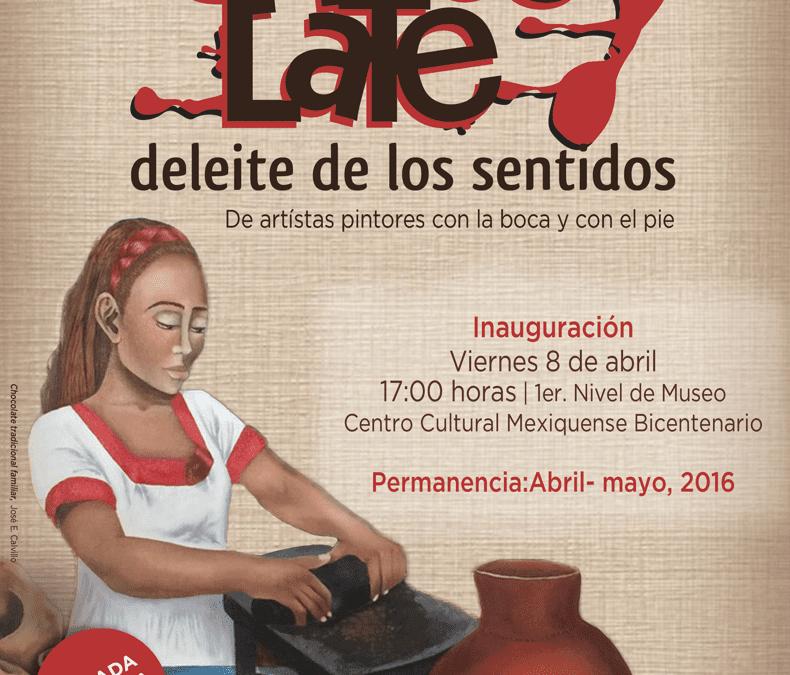 Exposición Pictórica Chocolate Deleite de los Sentidos