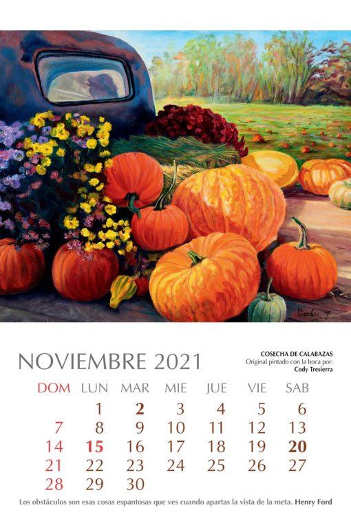 Calendario Artístico 2021
