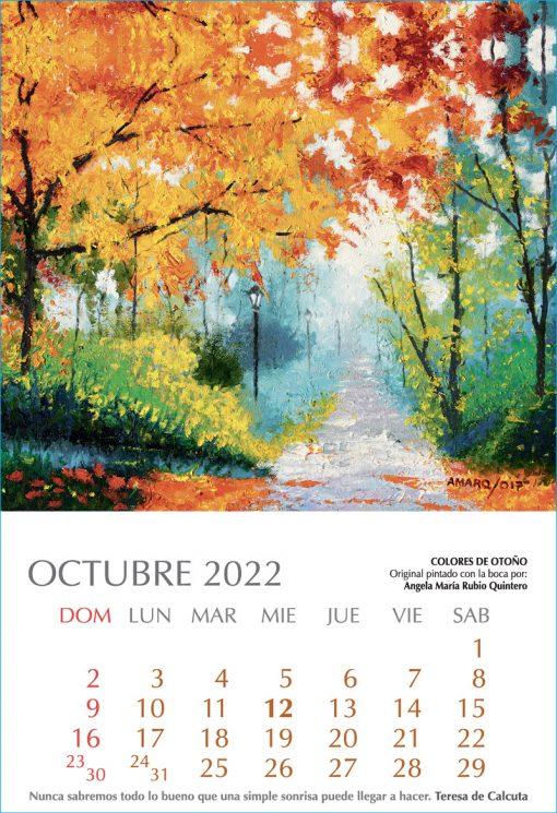 Calendario Artístico 2022