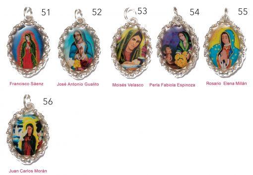 Medallas Guadalupanas – 5 medallas a elegir -