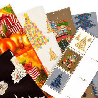 Papel para envolver regalos de Navidad