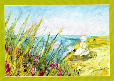 EP 827 Niña junto al mar