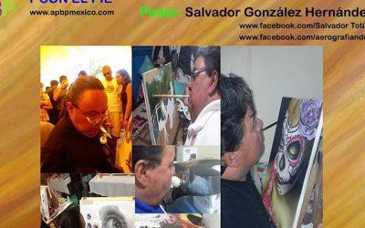 3° Aniversario del Día Mundial de los artistas que pintan con la boca y con el pie