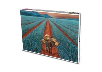 """""""La cosecha"""" / Luis Rogelio Fontes Molina / pintor con la boca"""