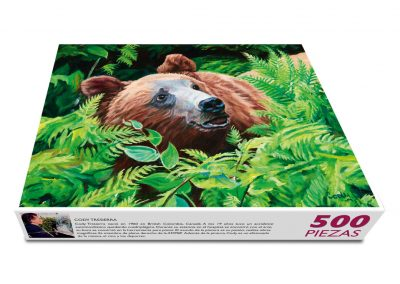 """""""Mi amigo oso"""" Cody Tresierra / pintor con la boca"""