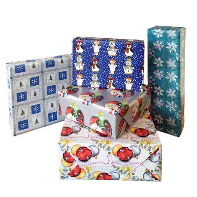 Papel para envolver regalos de Navidad (b)